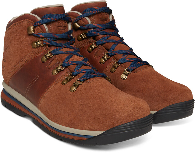 Timberland Gt Rally Mid Leather Wp Chaussures Homme Marron Sur